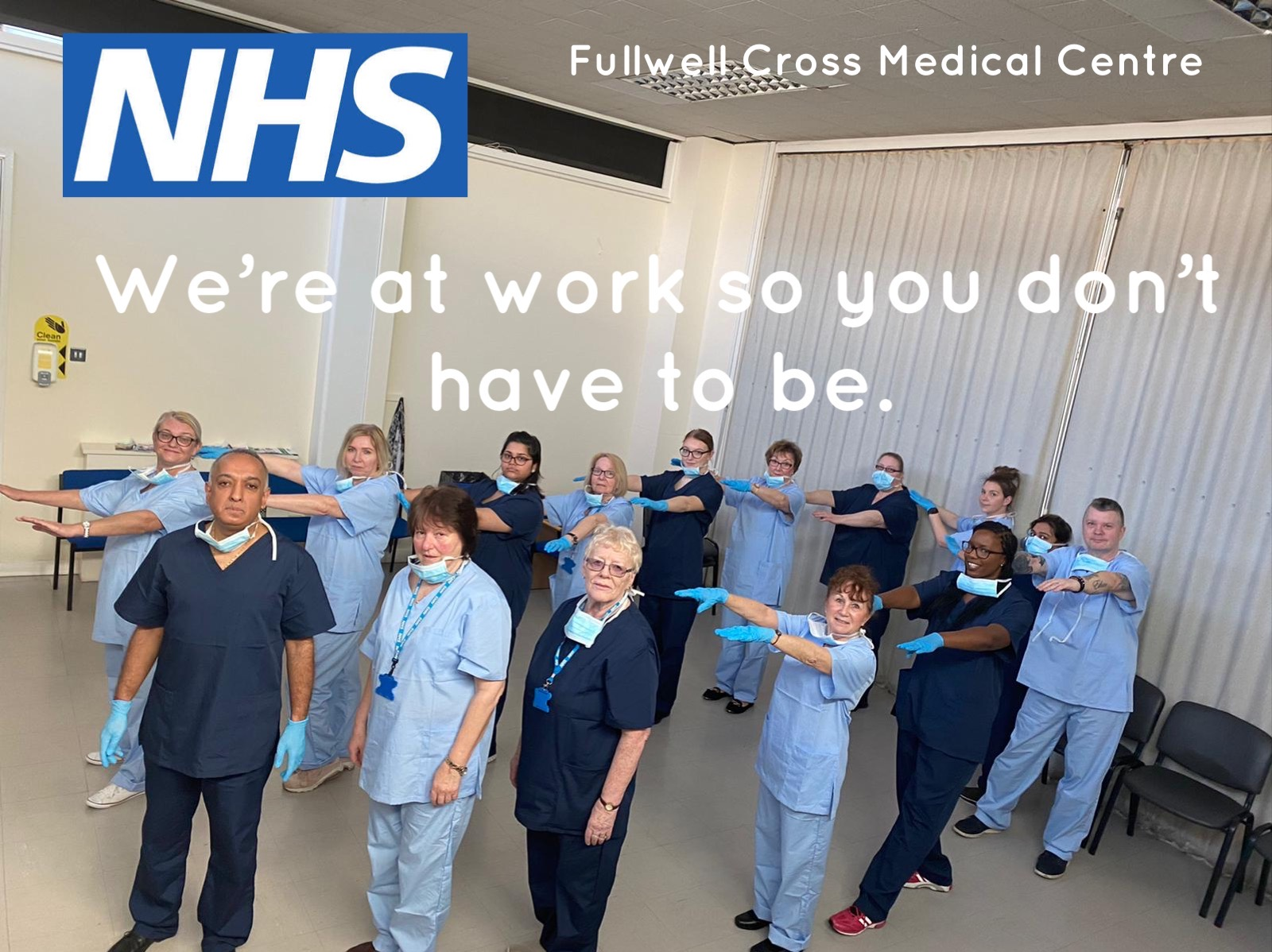 NHS Fullwell Cross Medical Centre We're at work so you don't have to be.